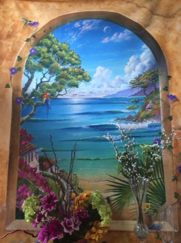 Amazing,spectacular,beautiful,scenic,San-Diego,ocean,wave,beach,mural,art,artist